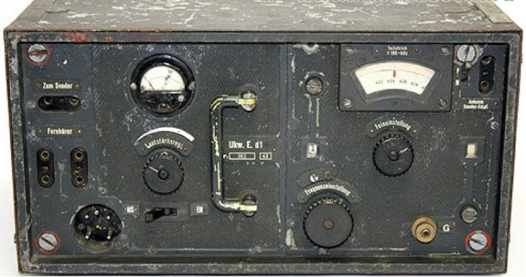 Комплект танковой радиостанции Fu 7 SE 20 U (Fu 7). Приемник Ukw.E.d1 (Fu 2).