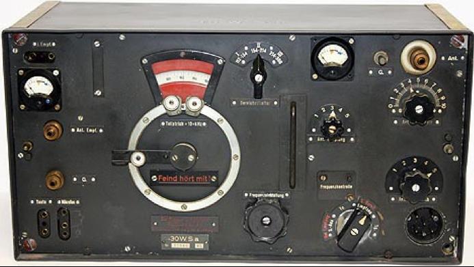 Комплект танковой радиостанции Fu 8 SE 30 M (Fu 8). Передатчик 30 W.S.