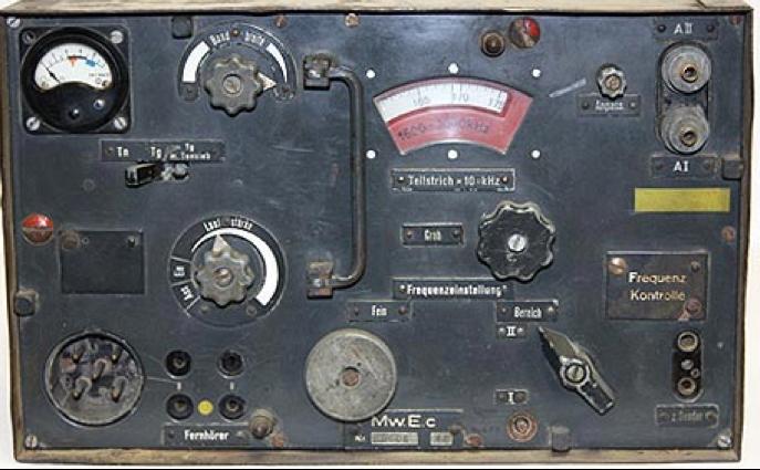 Комплект танковой радиостанции Fu 8 SE 30 M (Fu 8). Приемник Mw.E.c.