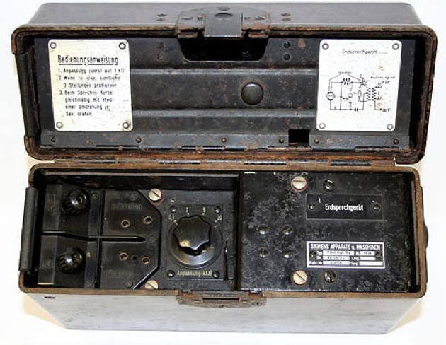 Полевой телефон Erdsprechgerät