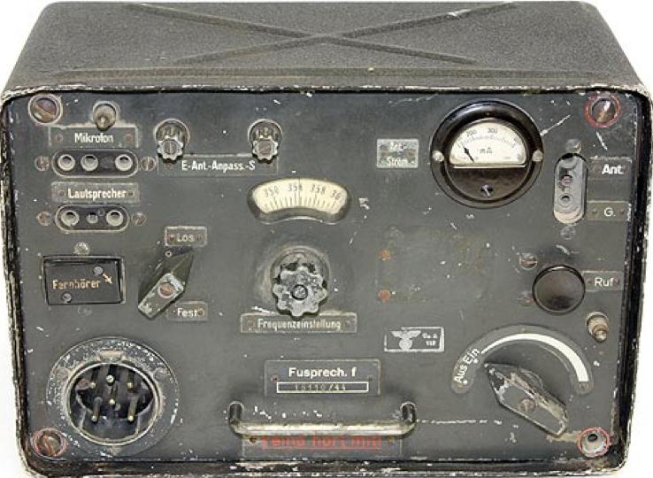 Комплект мобильной радиостанция мотопехоты Fusprech.f.