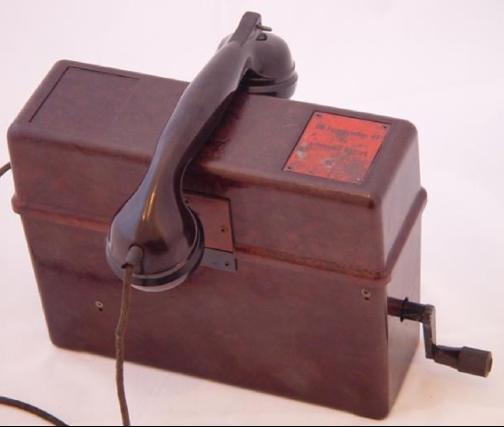 Полевой телефон OB Fernsprecher 43