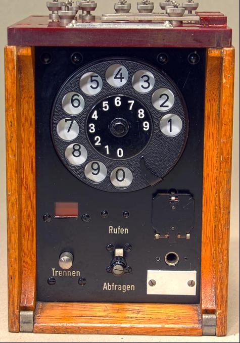 Наборное устройство для коммутатора Klappenschrank на 10 линий