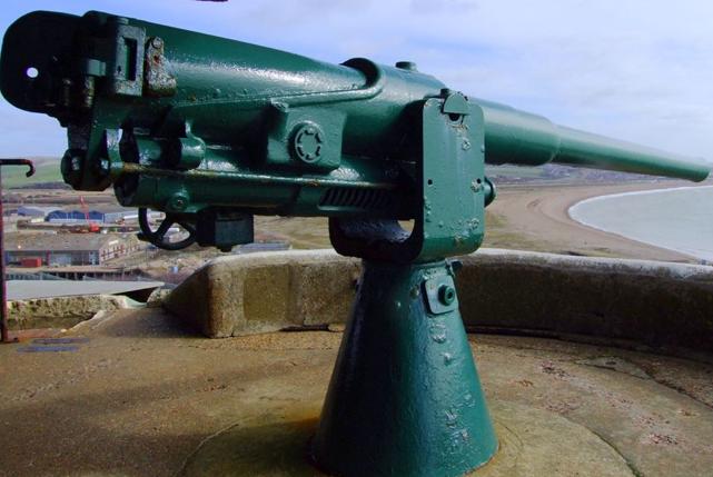 Береговое орудии QF 12 pounder 12 cwt