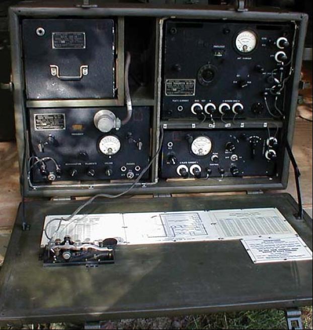 Переносная радиостанция SCR-178