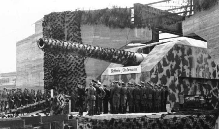 Береговое орудие 40.6-cm SKC/34 («Adolf Gun»)