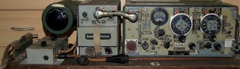 Комплект мобильной радиостанции Wireless Set №19 Mk-II