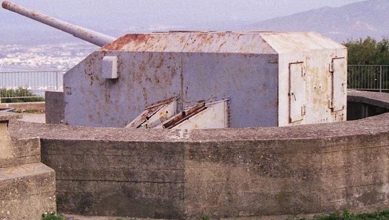 Береговое орудие QF-5.25 inch Mk-I