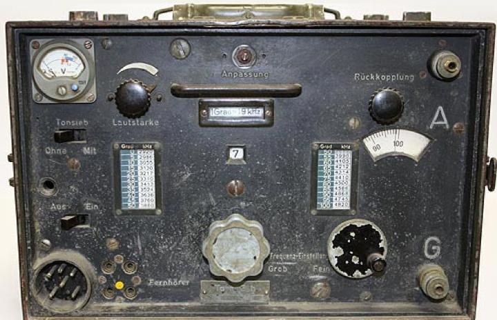 Комплект радиостанции Fu-20 (Fu-22). Приемник Torn.E.b.