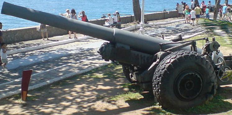 Полевая пушка BL-6 inch Gun Mk-XIX