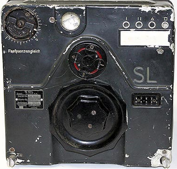 Длинноволновый блок радиостанции FuG-10. Передатчик S10L (SL).