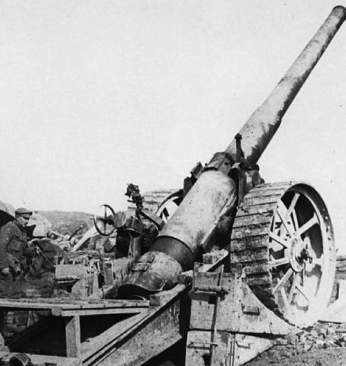 Пушка BL-6 inch Gun Mk-VII полевое орудие