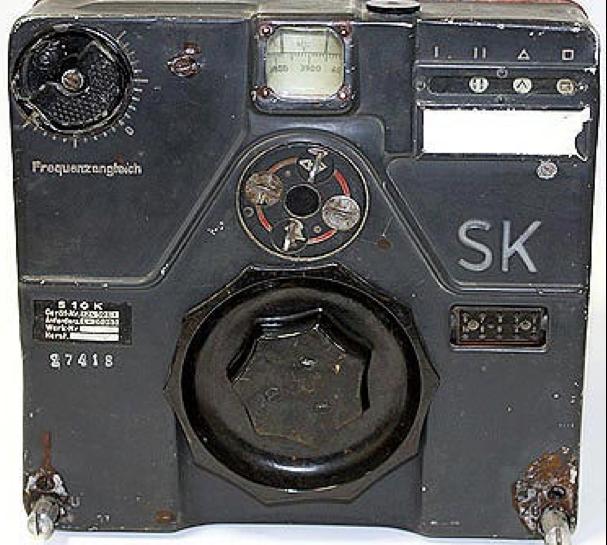 Коротковолновый блок радиостанции FuG-10. Передатчик S10K (SK).
