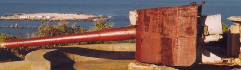 Береговое орудие BL-6 inch Gun Mk-ХI