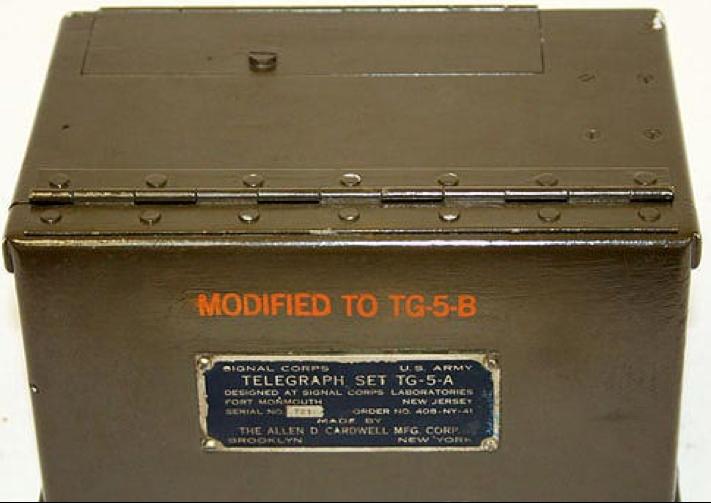 Полевой телеграфный аппарат TG-5-B