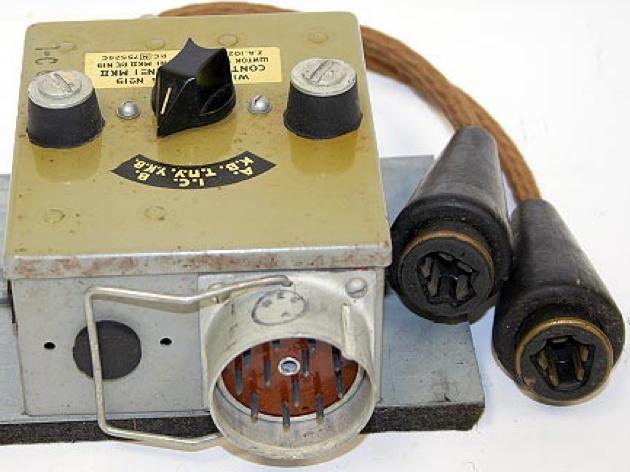 Щиток управления № 1 Mk-II радиостанции Wireless Set №19 Mk-II