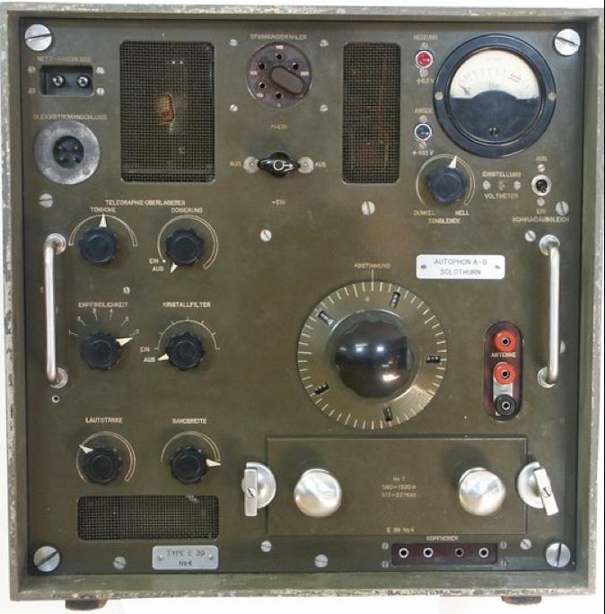 Приемник E-600 (Е-39)