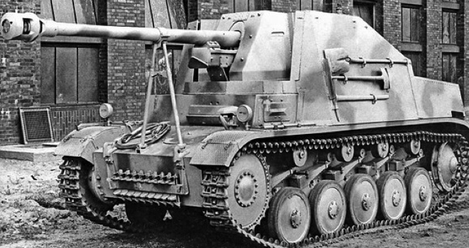САУ Marder II (SdKfz-131)