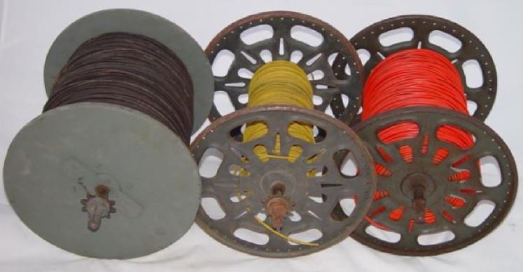 Катушки для «тяжёлого» полевого провода