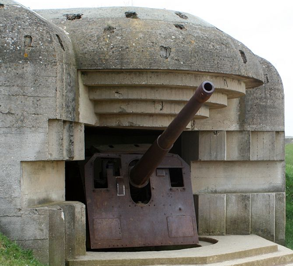 Береговое орудие 15-cm Schiffskanone L/40