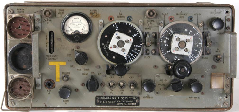 Комплект мобильной радиостанции Wireless Set № 19 Mk-III