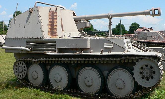 САУ Marder III