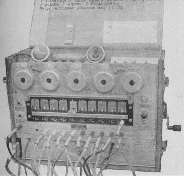 Телефонный  коммутатор LP-10 wz.28