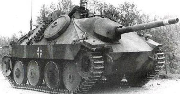 САУ Sd.Kfz.138/2 Jagdpanzer 38 (Hetzer)