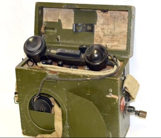 Полевой телефонный аппарат УНА-ФИ-43