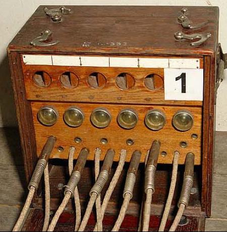 Телефонный коммутатор ФИН-6