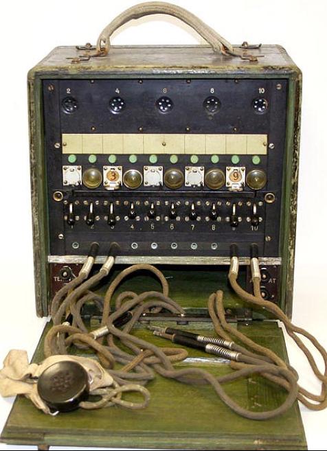Полевой телефонный коммутатор ПК-10