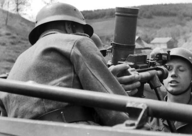 Самоходный миномет Sd..Kfz-251/2