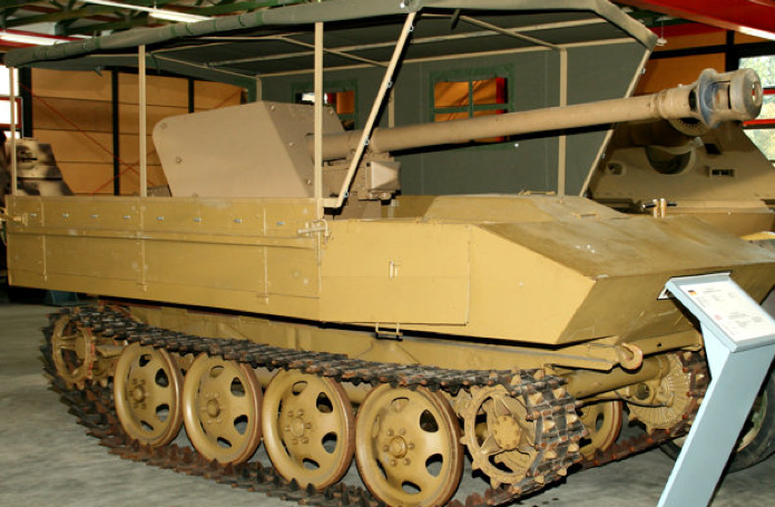 САУ 7,5-cm PaK-40/4 auf Raupenschlepper Ost (Sf)