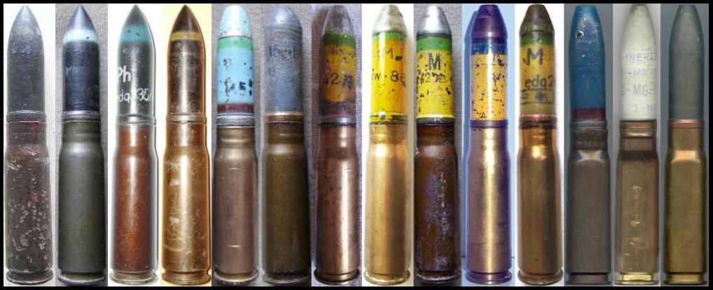 Номенклатура выстрелов 20x82