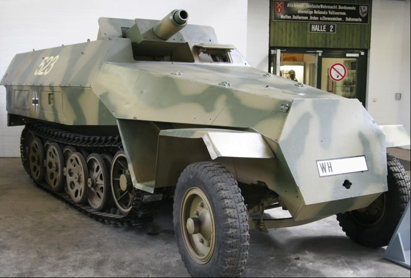 САУ Sd.Kfz-251/9