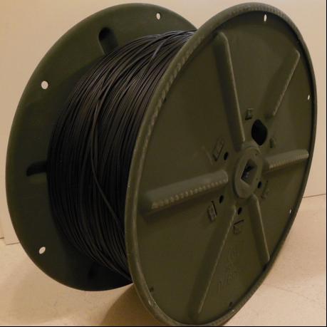 Тележка с телефонной катушкой RL-35 A. Длина кабеля – 1,8 км
