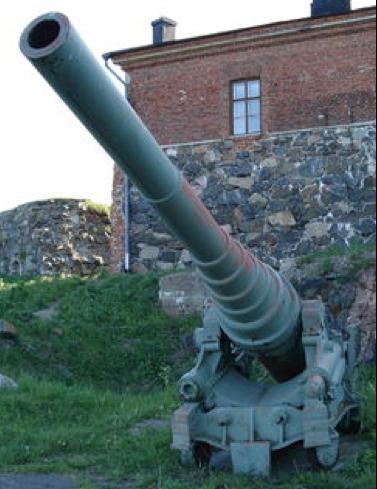 Береговое орудие 152/35 Mk