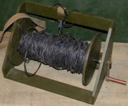 Телефонная катушка деревянная ТК-10
