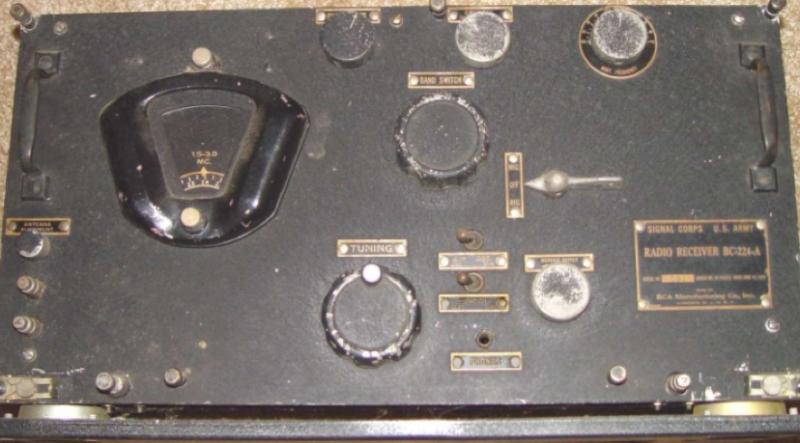 Авиационный приемник BC-224-A
