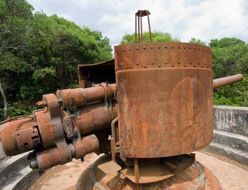 Береговое орудие 15 cm/50  K-10 Skoda