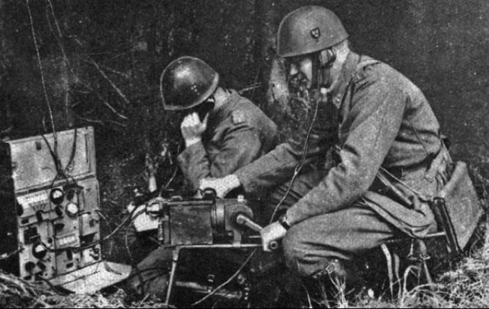 Переносная радиостанция 10 W Br m/39