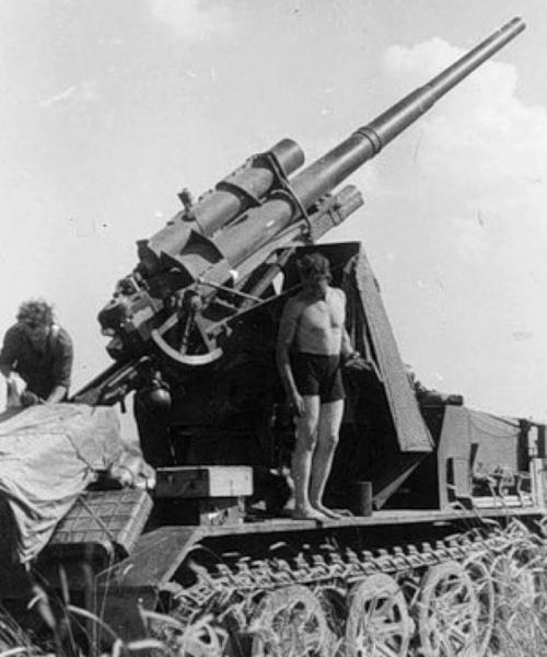 САУ 8.8-cm Flak 18 auf Zgkw 12t.