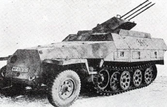 ЗСУ Sd.Kfz-251/21