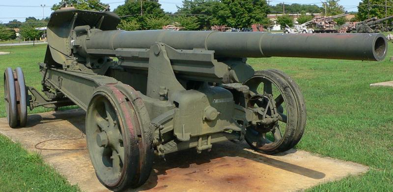 Canon-dе-155 GPF mle.1917. Варианты полевой пушки.