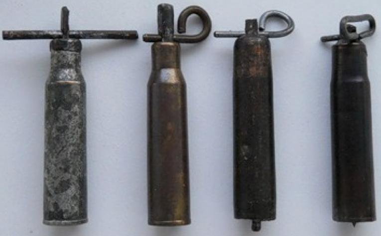 Взрыватели УВГ из винтовочных гильз и заготовок для гильз