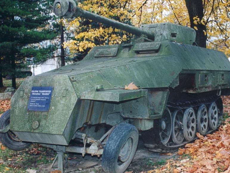 ЗСУ Sd. Kfz.251/22