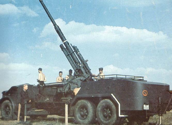 ЗСУ VOMAG Flak-36