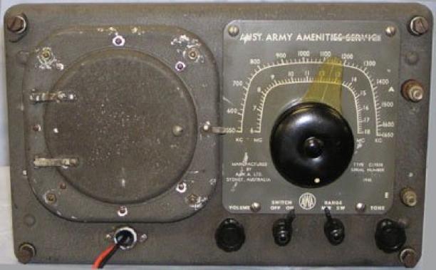 Вещательный военный приемникC-17020