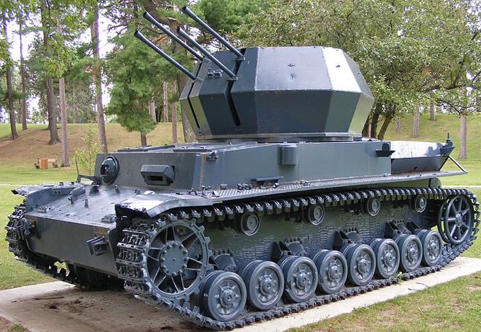 ЗСУ Flakpanzer-IV Wirbelwind