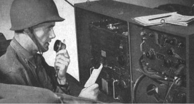 Мобильная радиостанция SCR-193